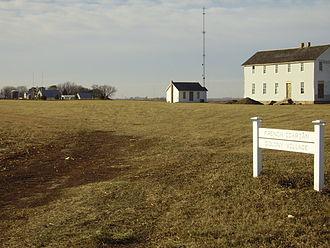 Corning, Iowa - Icarian colony site near Corning