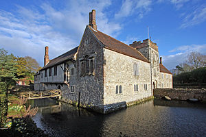 Tonbridge and Malling - Ightham Mote is in Tonbridge and Malling