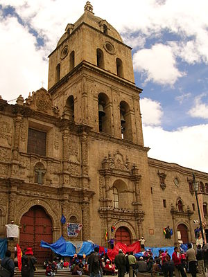 San Francisco Church (La Paz) - Image: Iglesia de San Francisco La Paz