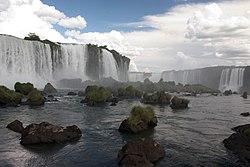 Iguazu Falls Cataratas Brazil Side Luca Galuzzi 2005.jpg