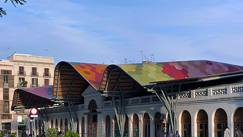 Il mercato di Santa Caterina panoramio
