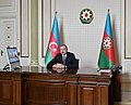 Ilham Aliyev received Jeyhun Bayramov in a video format on his appointment as Foreign Minister03.jpg
