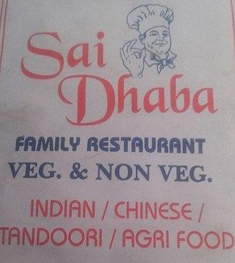 Non-vegetarian - Image: Image of Sai Dhaba Adharwadi