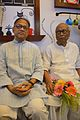 Imdadul Haq Milon with Sankha Ghosh - Kolkata 2015-10-10 4956.JPG