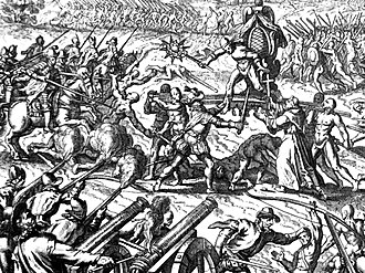 Atahualpa - Emperor Atahualpa during the Battle of Cajamarca