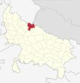 India Uttar Pradesh districts 2012 Pilibhit.png