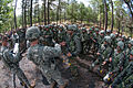 Indian Army soldiers and U.S. Army paratroopers evaluate a recently concluded simulated combat patrol at Fort Bragg, N.C..jpg