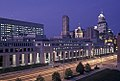 Indiana Government Center at night.jpg