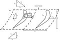 Inlet, outlet and mean velocity triangles, and blade forces(turbine blades).jpg