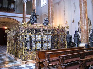 Hofkirche, Innsbruck - Maximilian's cenotaph