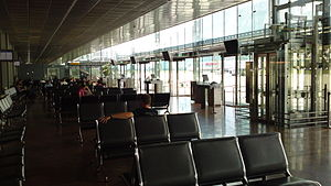 Innsbruck Airport - Gate area