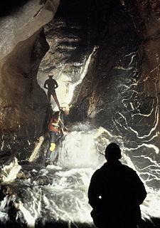Ogof Ffynnon Ddu cave in United Kingdom