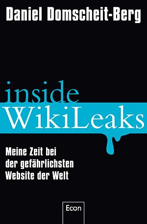 "Book Cover of German book ""Inside Wikilea..."