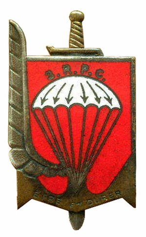 Marcel Bigeard - Insignia of the 3rd Parachute Colonial Regiment, 3<sup>e</sup> RPC.