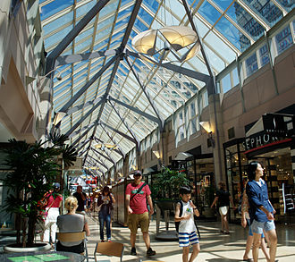 The Shops at Prudential Center - Interior of The Shops at Prudential Center, July 2011.