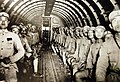 Interior of a DC-3 with its complement of Chinese soldiers enroute to India.jpg