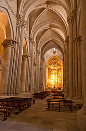 Old Cathedral, Salamanca interior