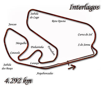 1997 Brazilian Grand Prix - Image: Interlagos 1997