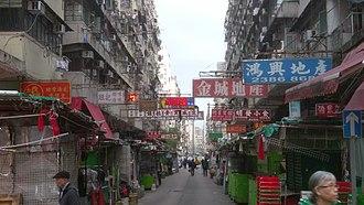 Pei Ho Street - Intersection of Pei Ho Street with Ki Lung Street