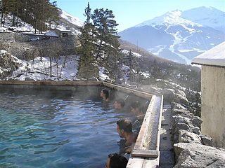 Destination spa Resort centered on a spa