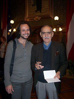 Iraj Afshar - Iraj Afshar in Vienna, 2007.
