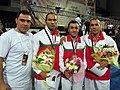 Iran taolu team in Ankara-2011.JPG