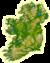 Topographic map of Ireland