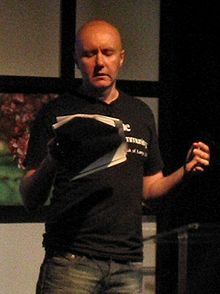 Irvine Welsh at the 2004 Edinburgh International Book Festival