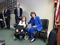 Isabel Bueso and Dianne Feinstein 01.jpg