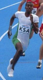 Ismail Al-Sabiani Saudi Arabian sprinter