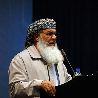 Afghan politician