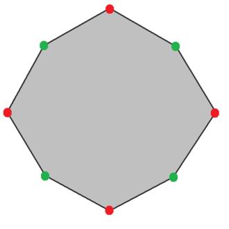 Isotoxal figure - Image: Isotoxal octagon