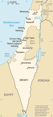 Israele - Mappa
