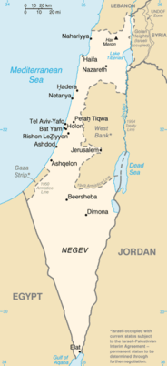 Cartina Stato Di Israele.Israele Wikipedia