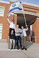 Israeli Exchange Students visit Leo Baeck.jpg