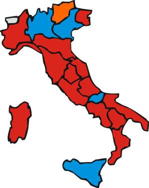 Italian regional elections, 2005 - Image: Italian Regional Elections 2005 (After)