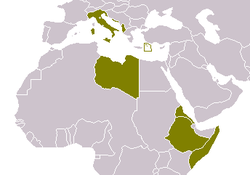 Location of Italia