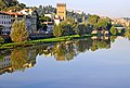 Italy-1057 - Reflections on the Arno. (5202770824).jpg