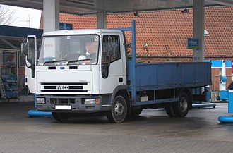 1996 Docklands bombing - The bomb was hidden in the back of an Iveco Ford Cargo flatbed truck, which had been specially modified. (This image is an unmodified example.)