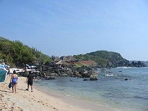Isla Ixtapa Guerrero Mexico Coral Beach side