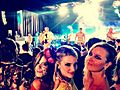 Izabela Garcia, Denise Severo e Cris Saur no Baile da Vogue 2013.jpg