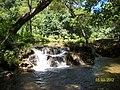 Já na cachoeira em Cabeceiras de Goias - panoramio.jpg