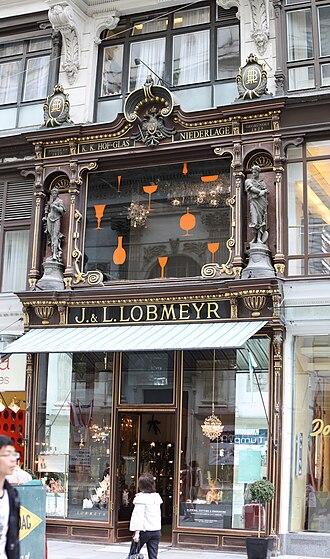J. & L. Lobmeyr - Image: J. und L. Lobmeyer Wien 2009 PD