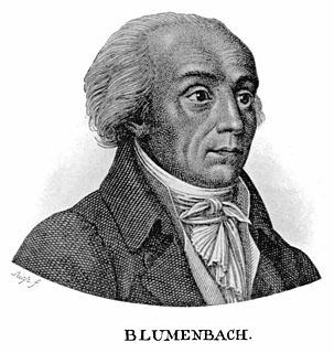 Johann Friedrich Blumenbach 18th and 19th-century German physiologist and anthropologist