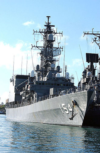 Asagiri-class destroyer - Image: JMSDF destroyer Amagiri DD 154