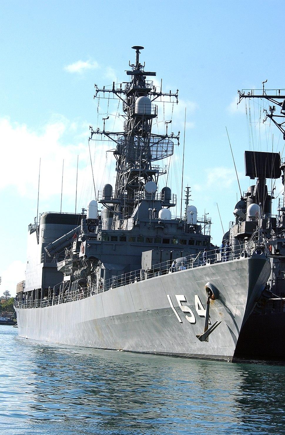 JMSDF destroyer Amagiri DD-154