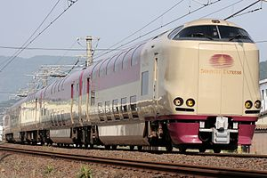 285 series - 285 series on a Sunrise Seto service, May 2009