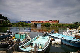 Ōmura Line railway line in Nagasaki prefecture, Japan