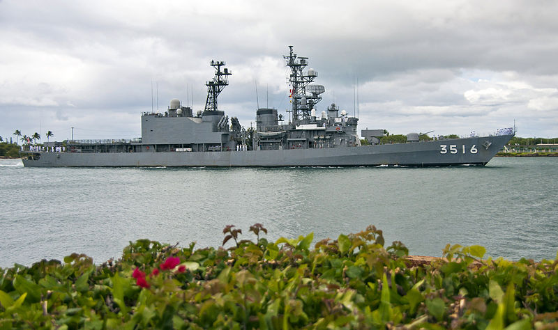 File:JS Asagiri enters Joint Base Pearl Harbor-Hickam, -10 Oct. 2011 a.jpg