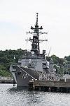 JS Murasame(DD-101) left front view at JMSDF Yokosuka Naval Base April 30, 2018.jpg